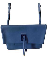 Michael Kors Miranda (collection) Leather Crossbody Bag - Blue