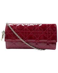 Dior Lady Lackleder Portemonnaies - Mehrfarbig