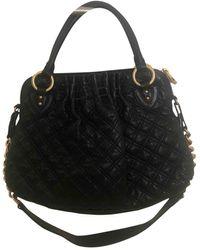 Marc Jacobs Stam Leather Handbag - Black