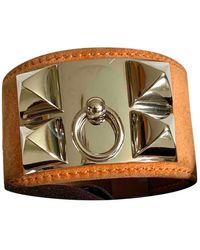 Hermès Collier De Chien Silver Bracelet - Multicolour