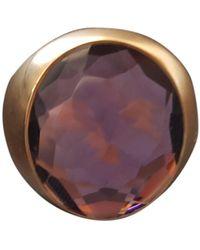 Pomellato Purple Pink Gold Ring