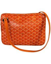 Goyard Orange Cloth Handbag