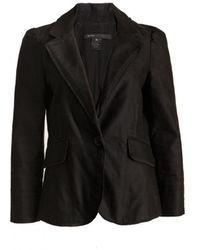 Marc Jacobs Black Cotton Jacket