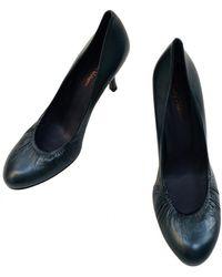 Zadig & Voltaire Leather Heels - Blue