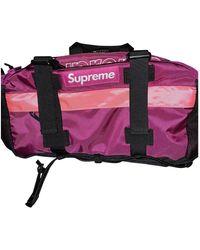 Supreme Pink Polyester Bag