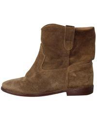 Isabel Marant Boots Crisi - Marron