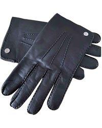 Lancel Leather Gloves - Black