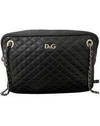 Dolce & Gabbana Leather Satchel - Black