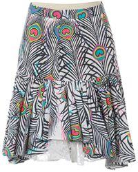 Matthew Williamson Multicolour Cotton Skirt - Blue