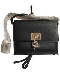 Ferragamo Leder Handtaschen - Schwarz
