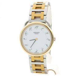 Hermès Arceau Uhren - Mettallic