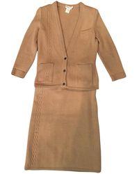 Hermès - Pre-owned Camel Cashmere Knitwear - Lyst