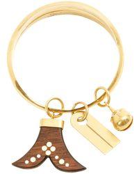 Chloé - Gold Metal Bracelet - Lyst