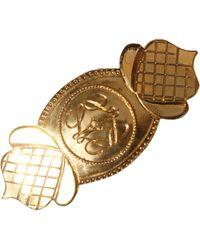 Loewe Vintage Gold Metal Hair Accessories - Metallic