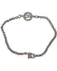 Dior Silver Metal Bracelet - Metallic