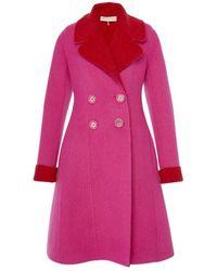 Emilio Pucci Wool Coat - Pink