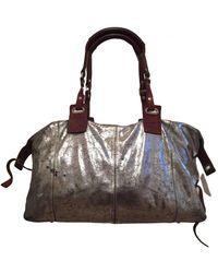 Pauric Sweeney Leather Handbag - Metallic