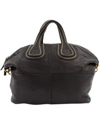 0bbc169a16c8 Lyst - Givenchy Small Nightingale Leather Tote Bag in Black - Save 40.0%