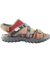 Lanvin Cloth Sandals - Natural
