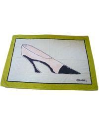Chanel Multicolour Cotton Swimwear - Green