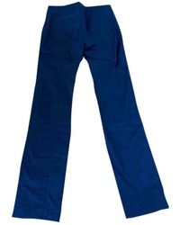 Louis Vuitton Black Cotton Trousers