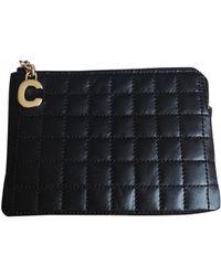 Celine Leather Purse - Black