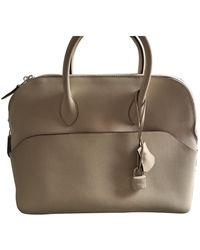 Hermès Bolide Leather Handbag - Multicolour