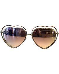 Chloé - Poppy Sonnenbrillen - Lyst