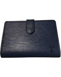 Louis Vuitton Leder Portemonnaies - Blau