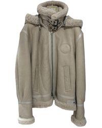 Chloé Shearling Jacket - Natural