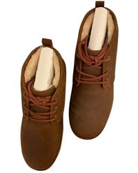 UGG Leather Boots - Brown