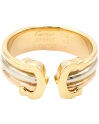 Cartier C Yellow Gold Ring - Metallic