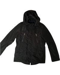 Zadig & Voltaire Black Polyester Coat