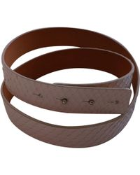 Acne Studios - Pre-owned Leather Belt - Lyst