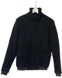 The Kooples Shearling Coat - Black