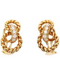 Tiffany & Co. Yellow Gold Earring - Metallic