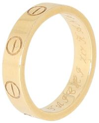 Cartier Anillo en oro amarillo amarillo Love - Multicolor