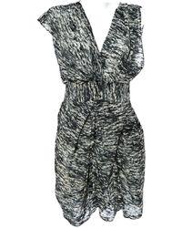 Isabel Marant - Grey Viscose Dress - Lyst