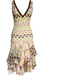 Missoni Multicolor Synthetic Dress - Metallic