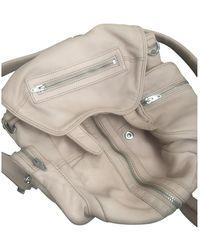Alexander Wang Marti Pink Leather Backpacks - Multicolor