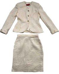 Valentino - Wolle Kostüm - Lyst
