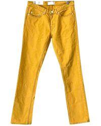 Acne Studios Gerade jeans - Gelb