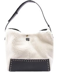 Stella McCartney Leather Handbag - White