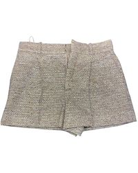 Chloé Wool Mini Short - Multicolour