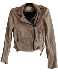 IRO - Beige Leather - Lyst