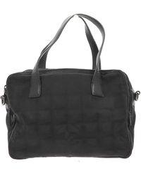 Chanel Canvas Handbag - Black