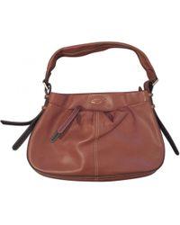 Lancel - Camel Leather Bag - Lyst