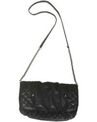 Maje Leather Handbag - Black