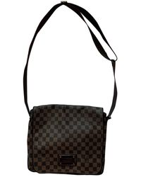 Louis Vuitton Sac Brooklyn en Toile Marron