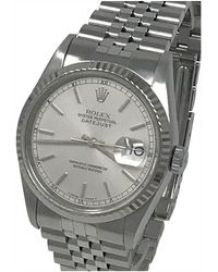 Rolex Reloj en acero plateado Datejust 36mm - Multicolor